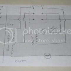 3 Phase Drum Switch Wiring Diagram Home Theatre System Drill Press Project - Single Motor (re)wiring