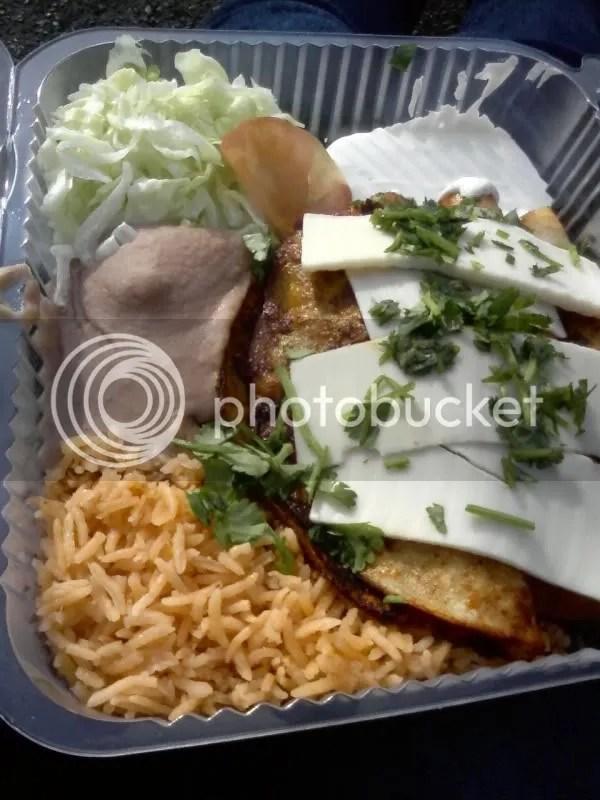 Soyrizo enchiladas