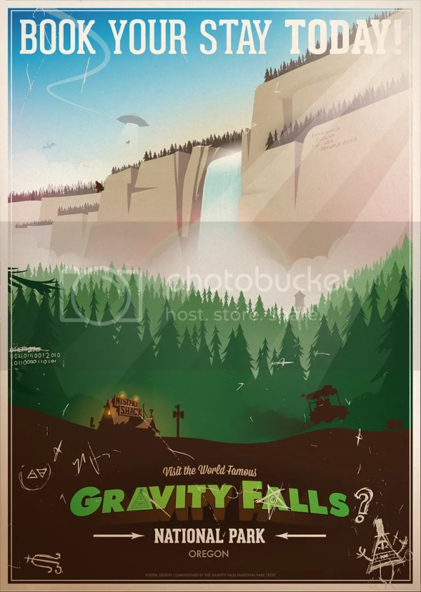 Gravity Falls Oregon Real Place Map Imgurl