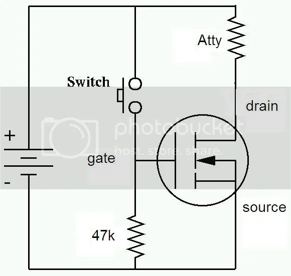 What is an easy way to test my MOSFET N-channel? : arduino
