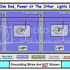 Electrical Wiring Diagram Two Lights One Switch 1974 Bmw 2002 Need Supply Power To Multiple With At The End Of Circuit Doityourself Com Community Forums