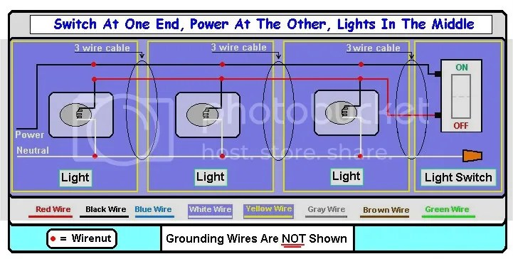 light wiring diagram multiple lights gibson sg need supply power to with switch at the end of circuit doityourself com community forums