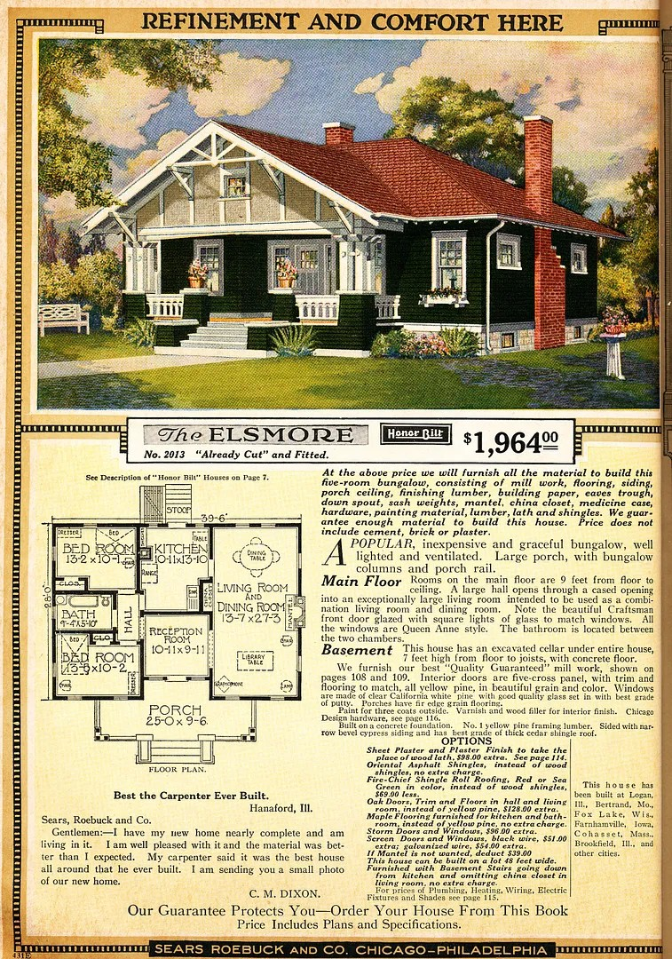Elsmore, as seen in the 1921 catalog.