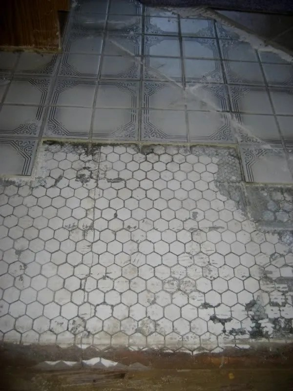 OHW  View topic  UPDATED  with many PHOTOS 1920s hex tile in bathroom