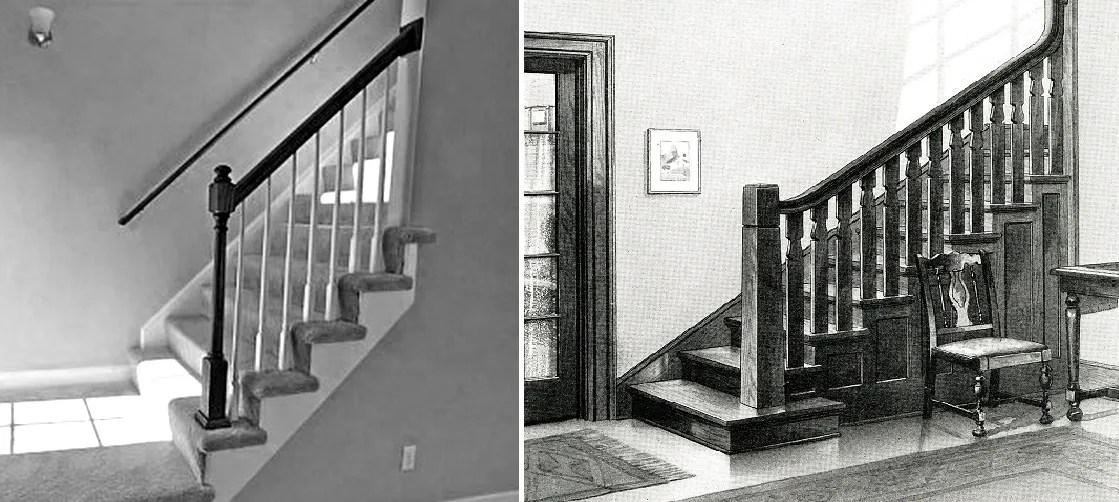 Vintage Images Of Staircases Sears Modern Homes
