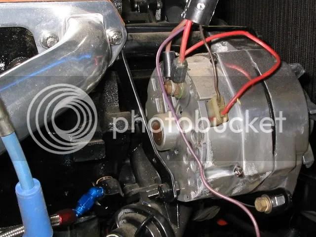 Amc Jeep 304 Alternator Wiring Help With Oil Pressure Connection Jeepforum Com