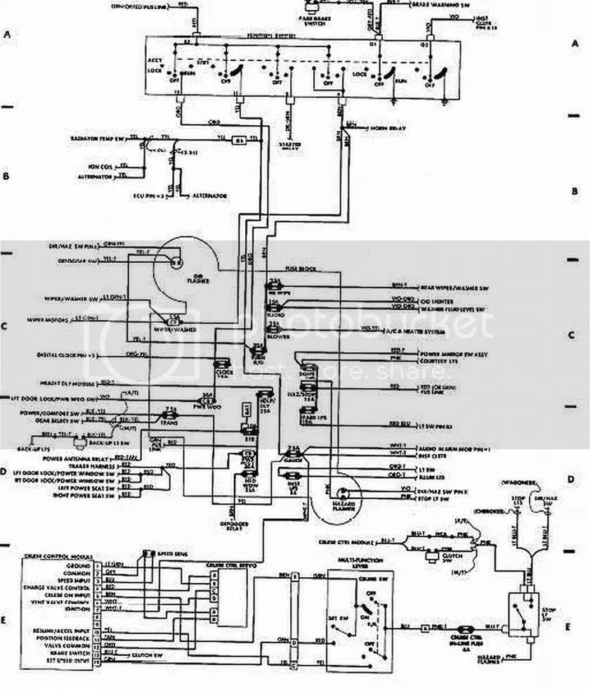 hight resolution of 89 xj ignition swith wiring diagram push button start