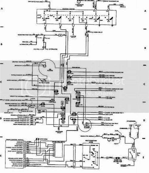 small resolution of 89 xj ignition swith wiring diagram push button start