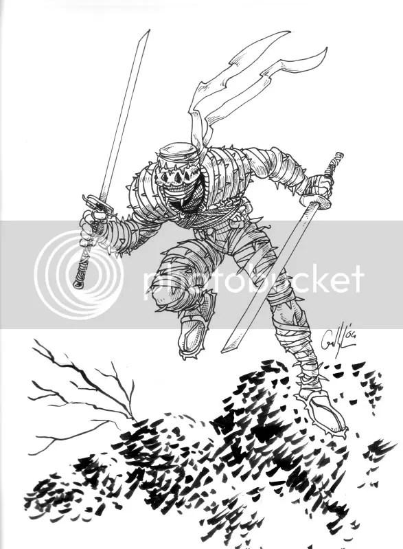 forest ninja thorn