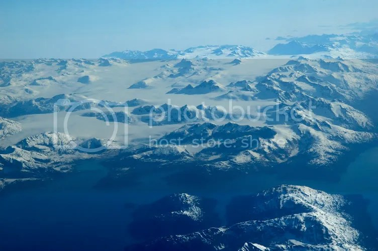 Aerial pictures of the Eastern end of Prince William Sound Alaska by Arun Shanbhag
