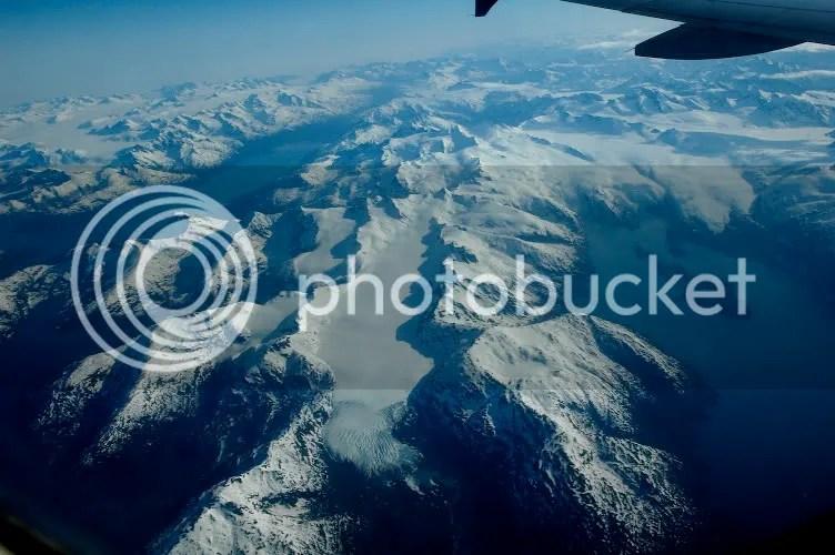Aerial pictures of Tebenkof Glacier Alaska by Arun Shanbhag