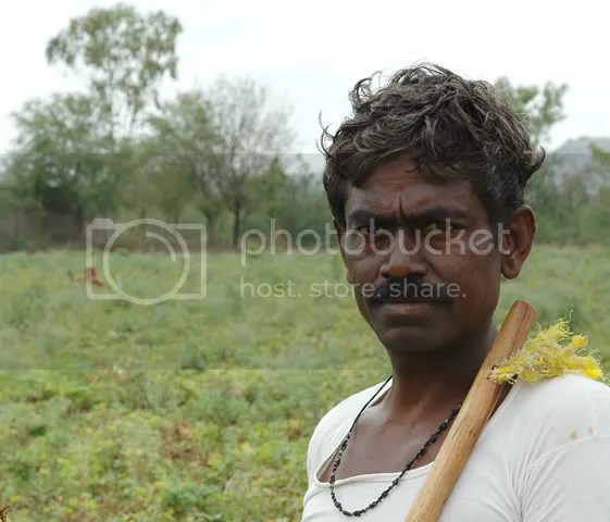 Peanut farmer in Northern Karnataka pics by Arun Shanbhag