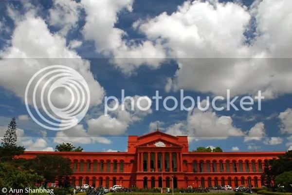 High court across the Vidhan Soudha pics during Bengaluru bangalore tour by Arun Shanbhag