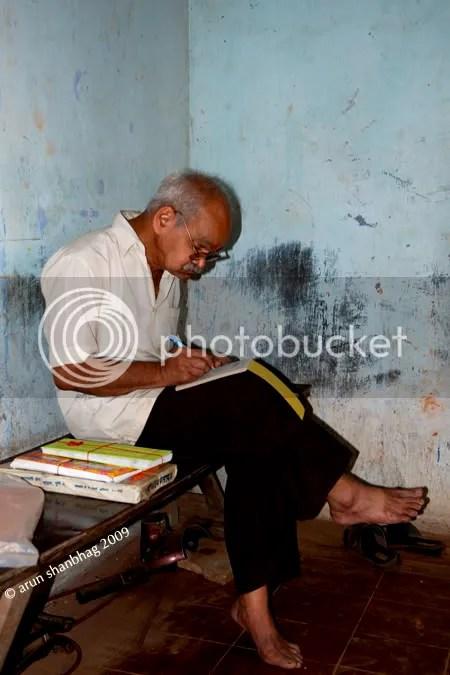 shyamsundar desai bookseller mardol goa Arun Shanbhag