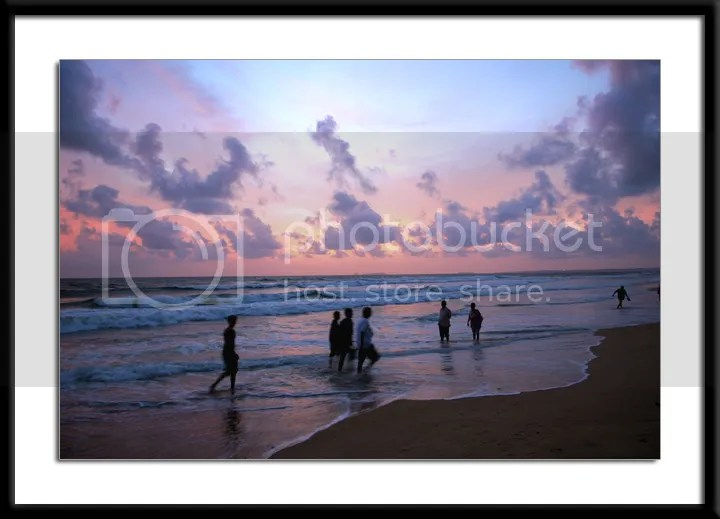 Colva Beach Goa sunset pics by Arun Shanbhag