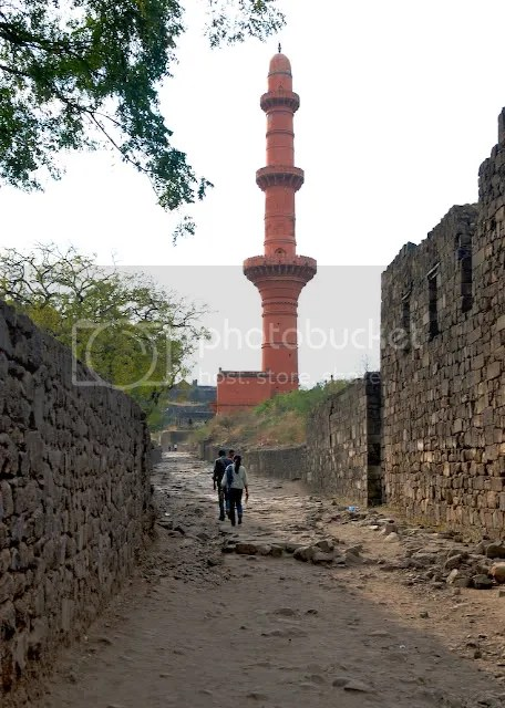 Minaret at Daulatabad Fort, India Arun Shanbhag