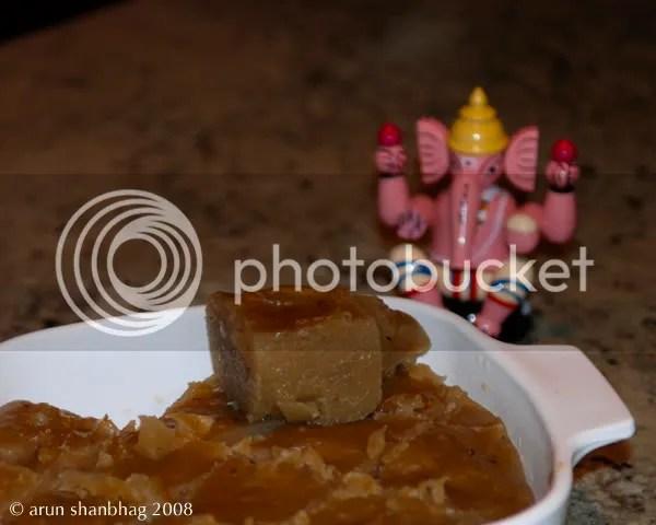 Konkani Dessert Duddali Arrowroot Pudding by Arun Shanbhag