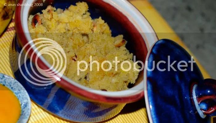 Shira Cream of Wheat Pudding - Soji halwa