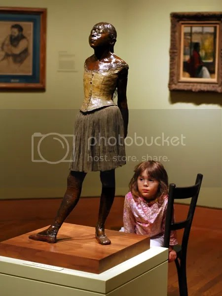 pics of Edgar Degas ballet dancers and bathers at the Harvard Art Museum