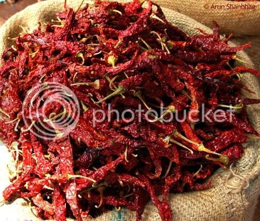 Pics of Baedgi Mirsaang from Kumta, a konkani specialty by Arun Shanbhag