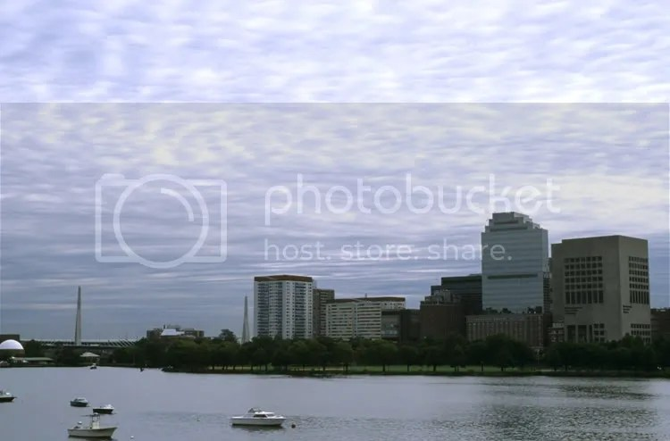 view of the Charles River, Boston by Arun Shanbhag