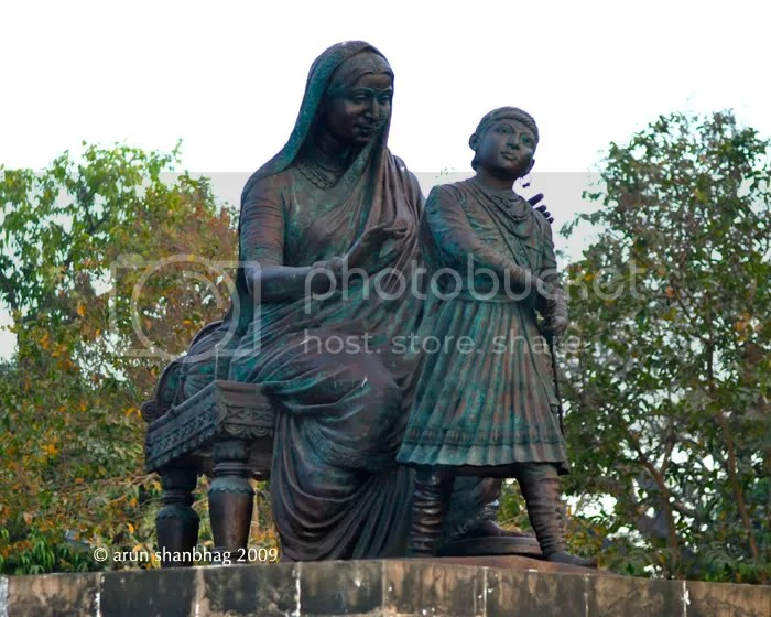 Picture Statue of Shivaji and his mother Jijabai, Jijamata Gardens and Zoo