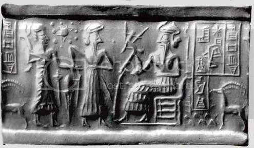 Sumerian stone tablet possibly depicting that Earth is the seventh planet Arun Shanbhag