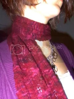 Flame Lace Scarf