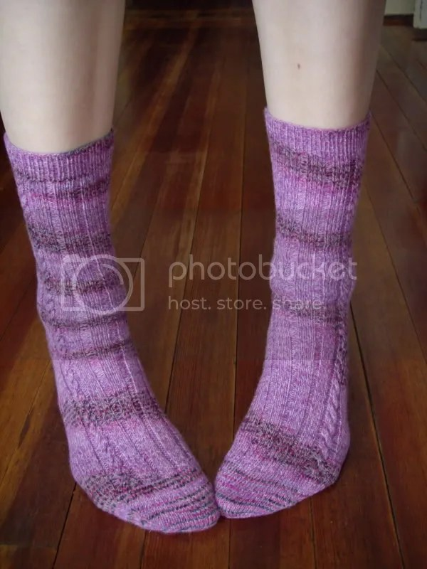 Sweet soysilk socks