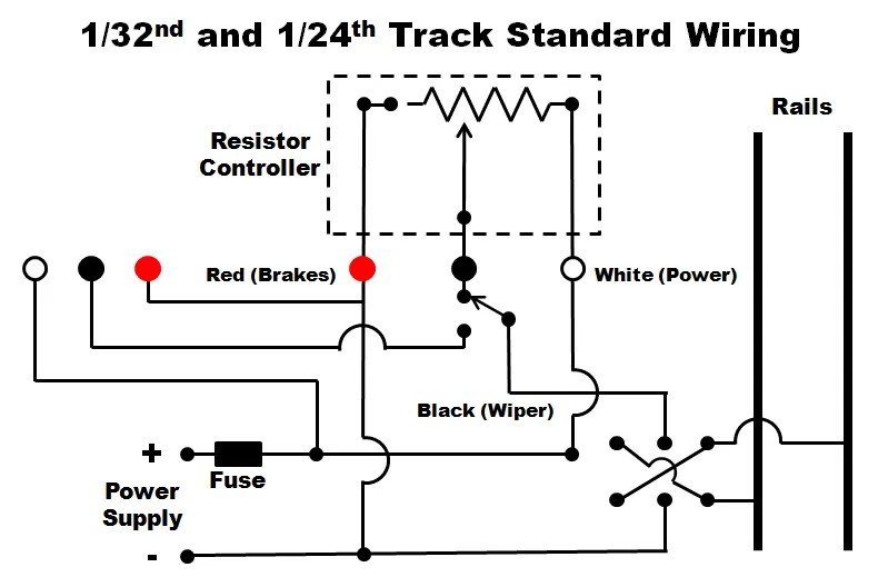 Wiring Diagram Slot Car Controller