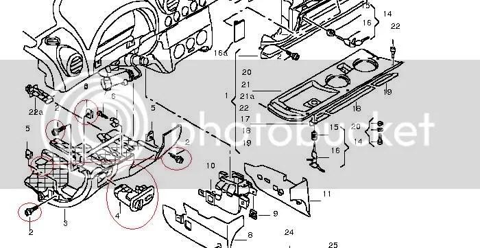 Audi A3 Light Switch Removal