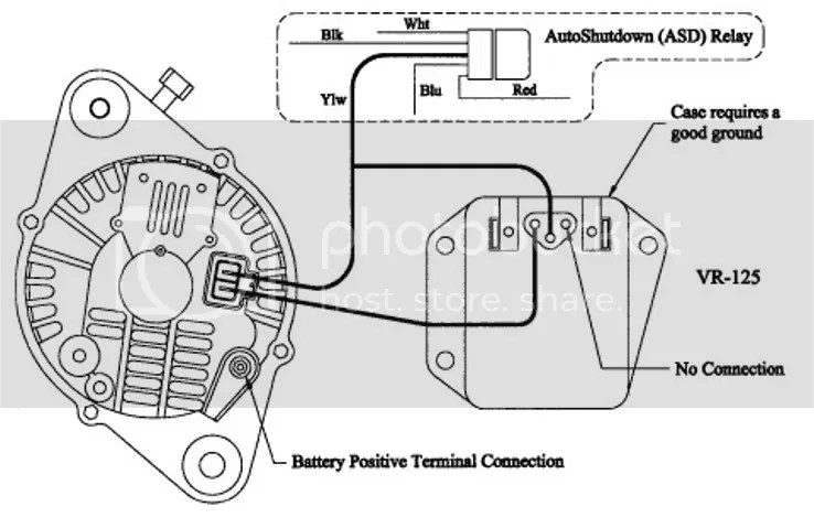 Mitsubishi Alternator Wiring