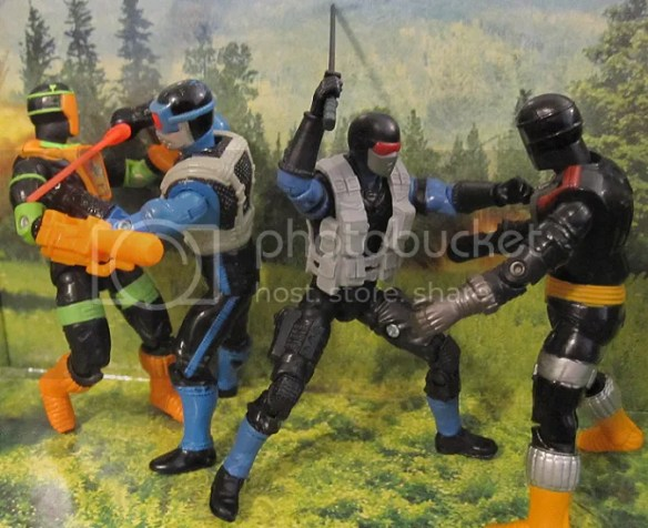 Dollar General Exclusive Snake Eyes action figure