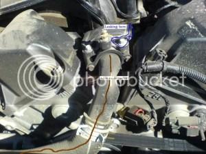 Urgent! Leakpossibly coolantimages  Chrysler 300C