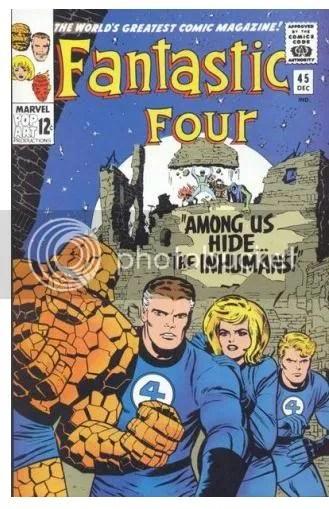 Fantastic Four #45