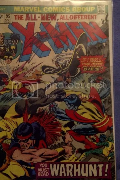 X-Men 95 Signed Claremont