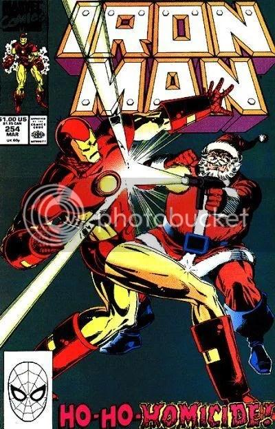 Iron Man Santa Christmas