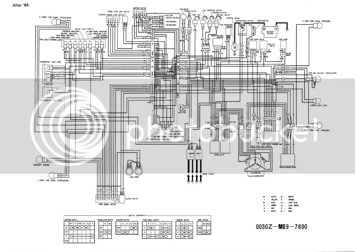 motorcycle honda shadow wiring diagram aus trailer plug 1997 get free