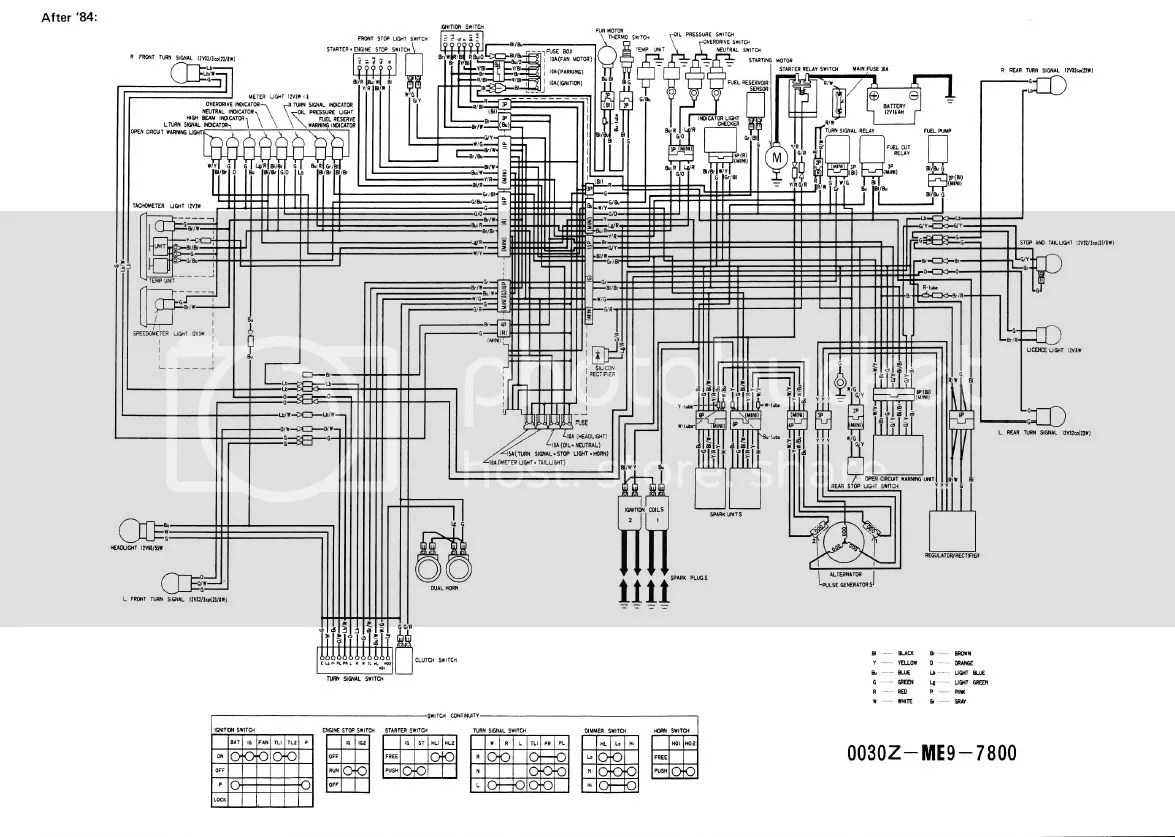 hight resolution of 1984 honda vt500c wiring wiring diagram centre 1984 honda shadow wiring diagram wiring diagram page1984 honda