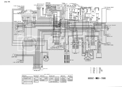 small resolution of 1984 honda vt500c wiring wiring diagram centre 1984 honda shadow wiring diagram wiring diagram page1984 honda