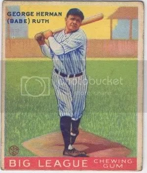 How To Spot A Fake Babe Ruth 1933 Goudey 144 Baseball Card Sports
