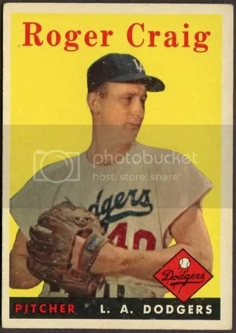 Card of the Day: Roger Craig 1958 Topps #194