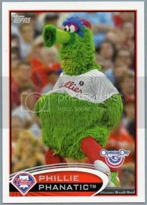 Card of the Day: Phillie Phanatic 2012 Topps Opening Day #M-14