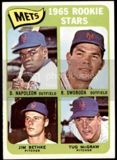 Card of the Day: 1965 Topps Mets Rookie Stars #533