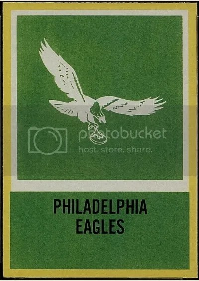 Card of the Day: 1967 Philadelphia – Philadelphia Eagles Insignia #144