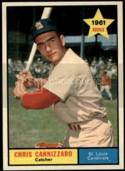 Card of the Day: Chris Cannizzaro 1961 Topps #118