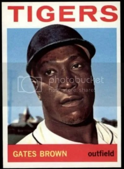 Card of the Day: Gates Brown 1964 Topps #471