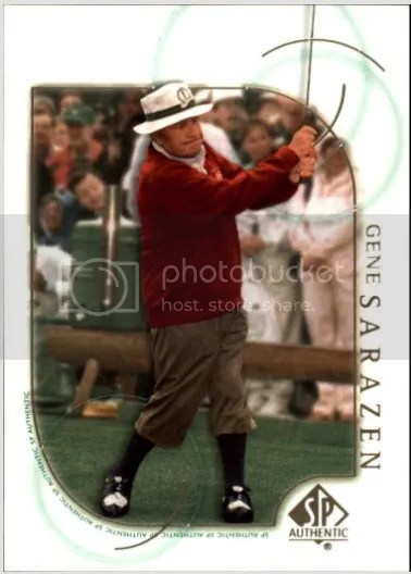 Card of the Day: Gene Sarazen 2001 Upper Deck SP Authentic #2