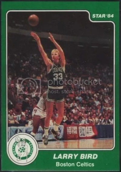 Card of the Day: Larry Bird 1983-84 Star #26