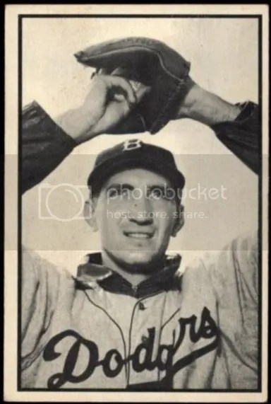 Card of the Day: Ralph Branca 1953 Bowman Black & White #52